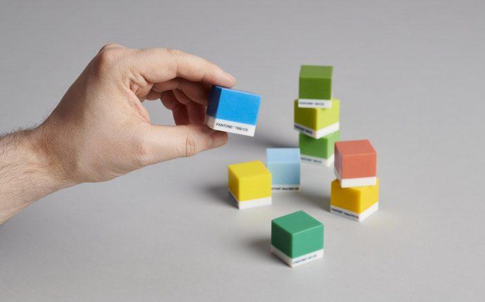 Pantone cube colours