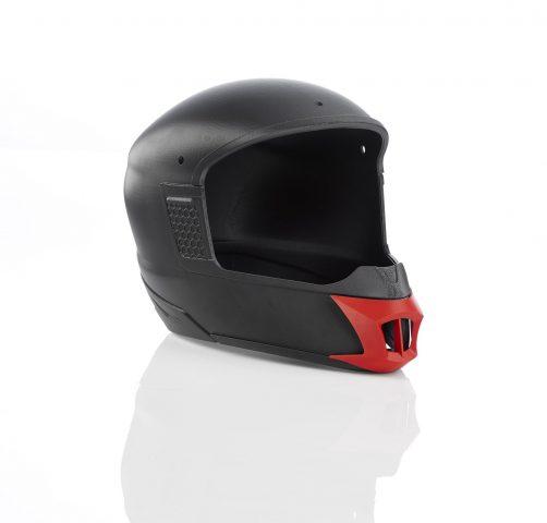 3D printed Motorcycle helmet
