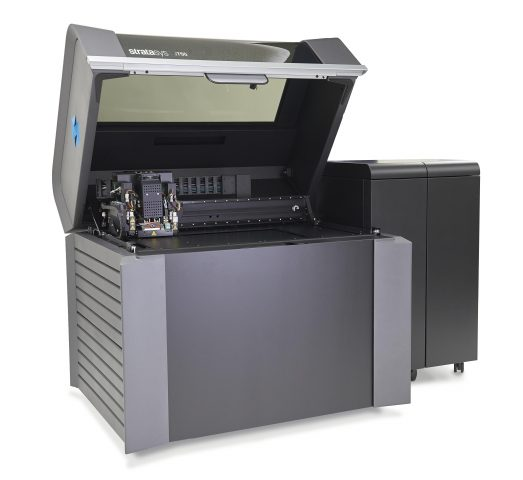 Stratasys J750 3D Printer open
