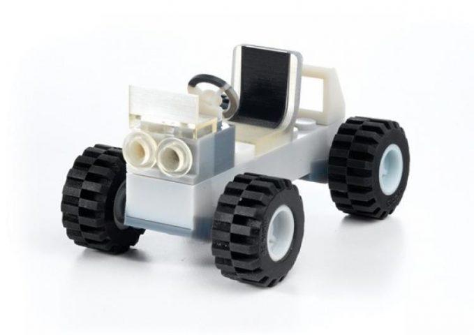 3D Printed Lego Car