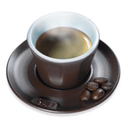 Model of high temperature coffee cup