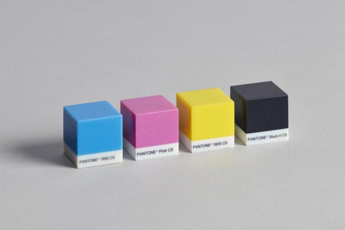 Pantone group A cube CMYK
