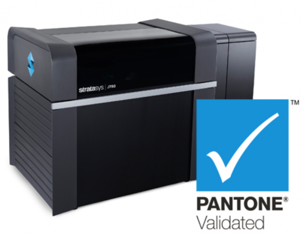 Pantone validated 3D printer
