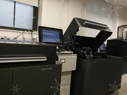 Stratasys industrial 3D printer